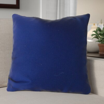 Escamilla Acrylic Throw Pillow Color: Navy Blue, Size: 15 H x 15 W