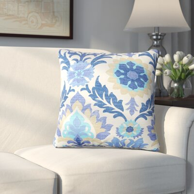 Rockhill Outdoor Throw Pillow Fabric: Azure