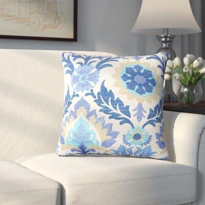Rockhill Outdoor Throw Pillow Fabric: Azure