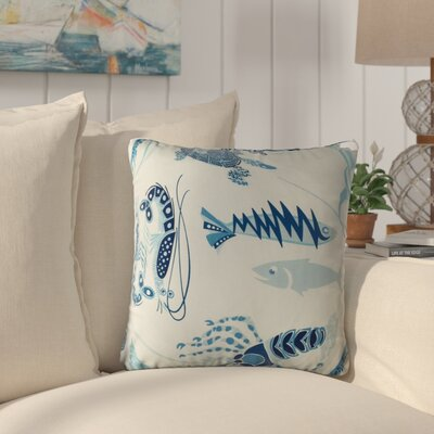 Cashion Fish Tales Throw Pillow