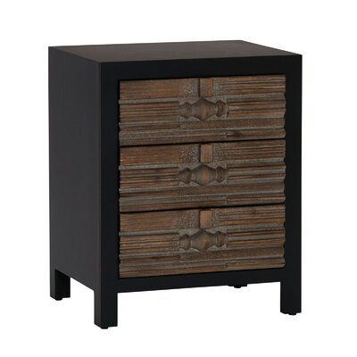 Mcentire Modern 3-Drawer End Table with Storage