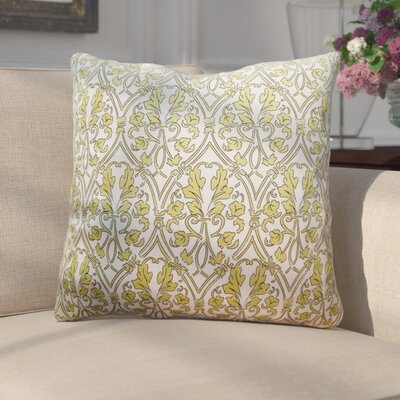 Adriell Non Bordered Throw Pillow Color: Green
