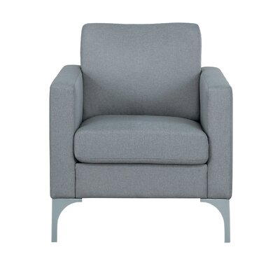 Suhununu Armchair Upholstery: Light Gray