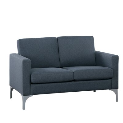 Suhununu Loveseat Upholstery: Dark Gray