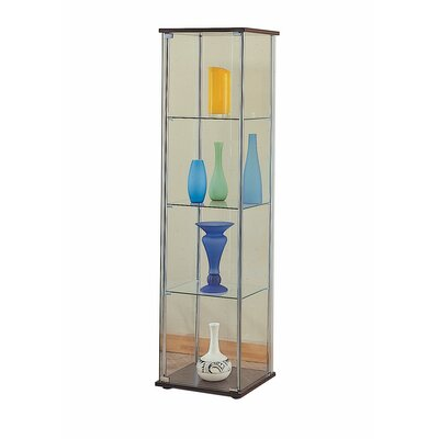 Hollander 4 Shelf Glass Curio Cabinet