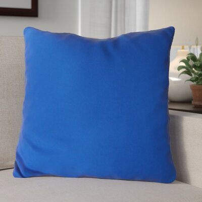 Escamilla Acrylic Throw Pillow Color: Light Blue, Size: 20 H x 20 W