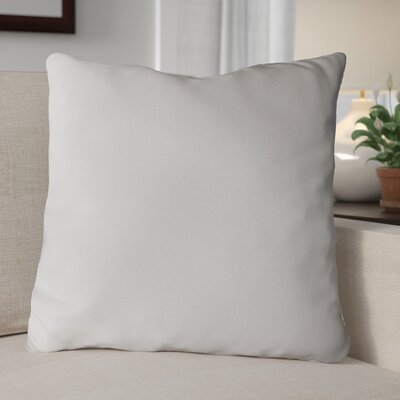 Escamilla Acrylic Throw Pillow Color: Natural, Size: 20 H x 20 W