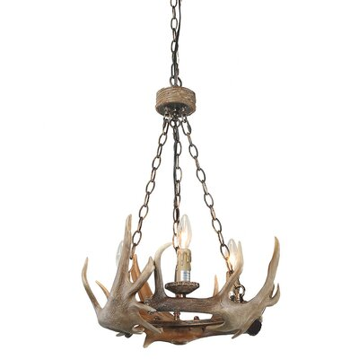 Vargas 3-Light Candle-Style chandelier