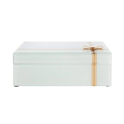 Bow Glass Jewelry Box 1A783BAF453B43EA89B0EDCA8D6D49FC