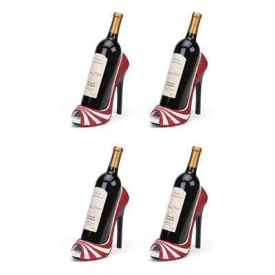 Giardina High Heel 1 Bottle Tabletop Wine Rack