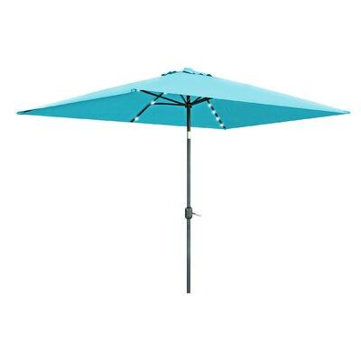 Justis Patio Rectangular 10' Market Umbrella A971D47BFD644F52B79BDCEE9BE95431