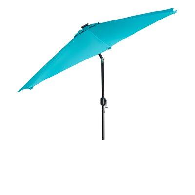 Kaczmarek Solar LED Patio 7' Market Umbrella DFA530CBD1AE45DA9D729A87627909EF