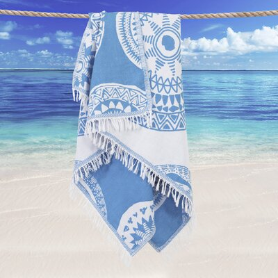 Badillo Pestemal Beach Towel Color: Turquoise