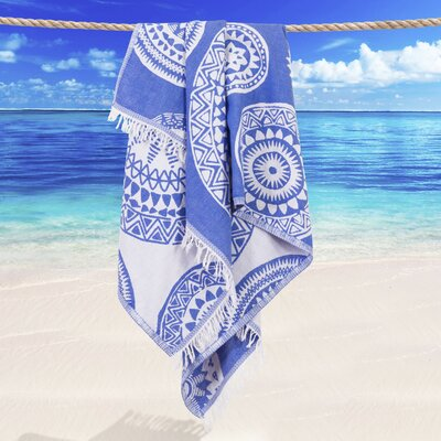 Badillo Pestemal Beach Towel Color: Royal Blue