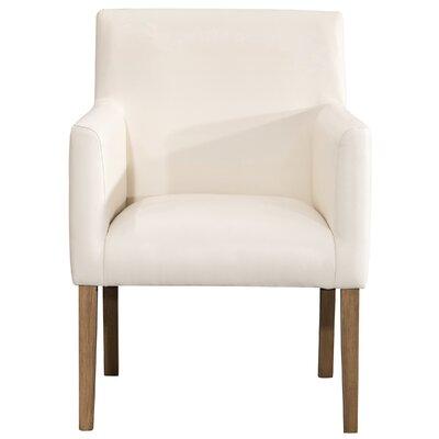 Pecoraro Upholstered Dining Chair Upholstery: Cream