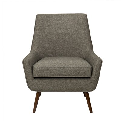 Cruz Armchair Color: Dark Gray