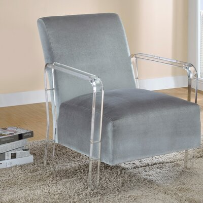 Isley Distinctive Add-on Armchair Upholstery: Gray