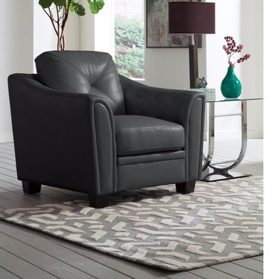 Sink Comfortably Versatile Armchair Upholstery: Black