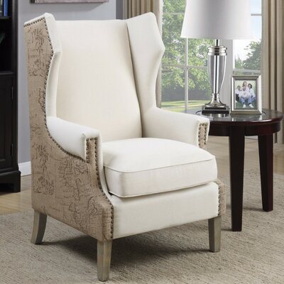 Enger Strikingly Suave Wingback Chair