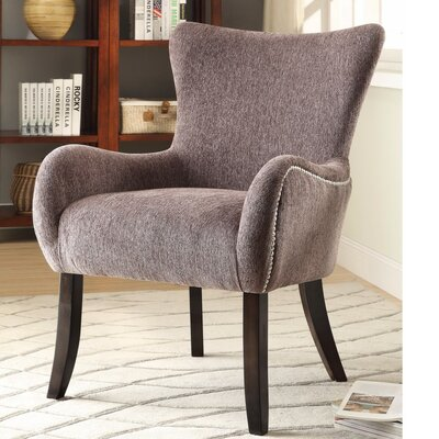 Itchington Stylishly Revamping Armchair Upholstery: Dark Brown