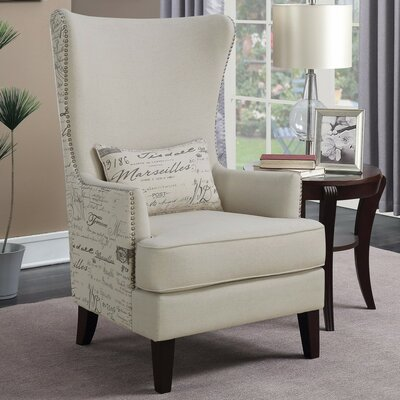 Waldschmidt Imposingly Opulent Wingback Chair