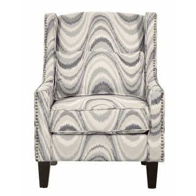 Mcclaine Swirl Swivel Wingback Chair