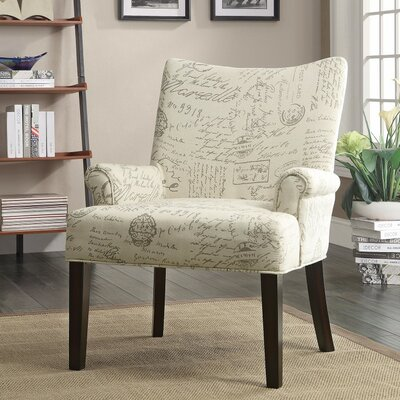 Waldman French Script Side Chair