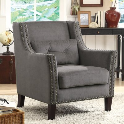 Kepler Supremely Classy Wingback Chair