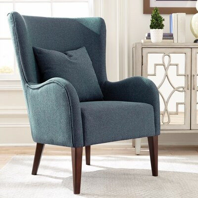 Kerber Sleek Figure Wingback Chair