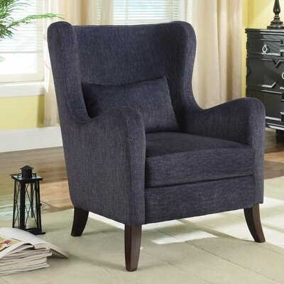 Mccaulley Dapperly Curvy Wingback Chair