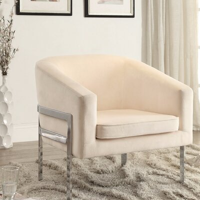 Islas Well Groomed Armchair Upholstery: Cream