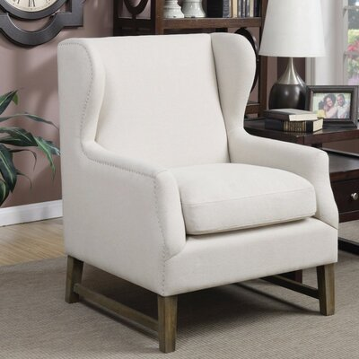 Shepherd Aesthetically Refined Wingback Chair