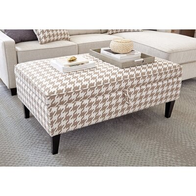 Kerlin Luxurious Fabric Storage Ottoman