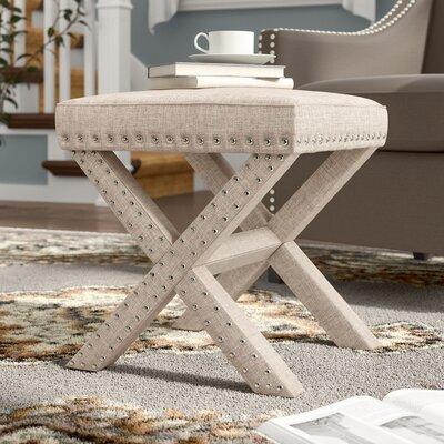 Bavaria Ottoman Upholstery: Beige