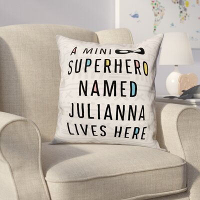 Heckstall Superhero Throw Pillow