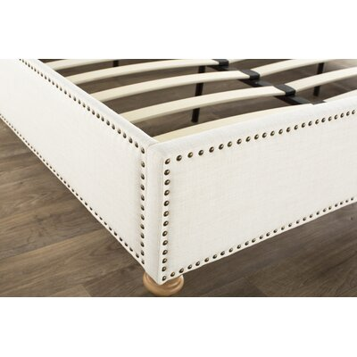 Djibril Platform Bed Size: King, Color: Cotton