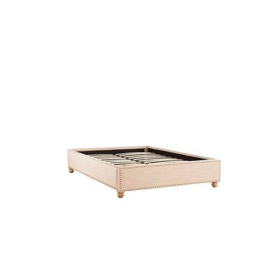 Djibril Platform Bed Size: Full, Color: Oatmeal