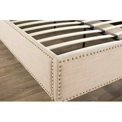 Djibril Platform Bed Size: Queen, Color: Oatmeal