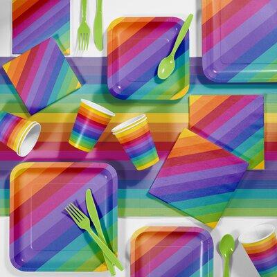 Rainbow Party Paper/Plastic Supplies Kit DTC5972C2B