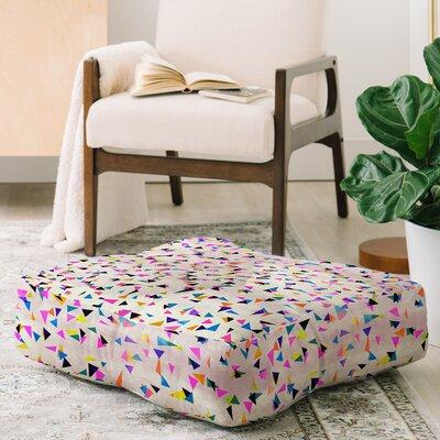 Rachelle Roberts Boho Paisley Square Floor Pillow