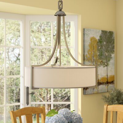 Ellerman 3-Light Pendant Finish: Satin Nickel