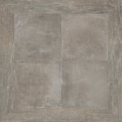 Epoque 30 x 30 Porcelain Field Tile in Cold Brown