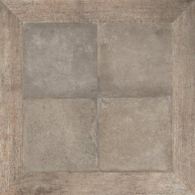 Epoque 30 x 30 Porcelain Field Tile in Warm Brown