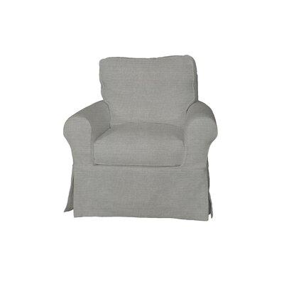 Telluride Swivel Armchair Upholstery: Gray