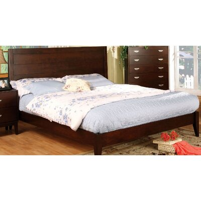 Poulous Eucalyptus Panel Bed Size: Queen