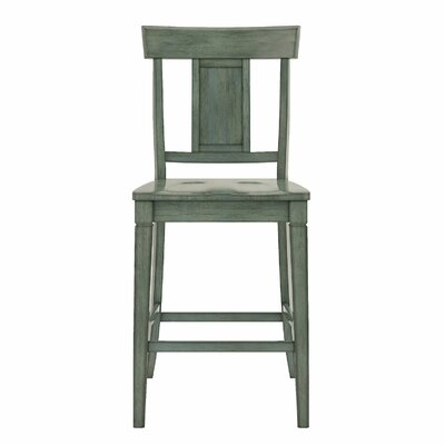 Rabago 24.21 Bar Stool Color: Antique Sage