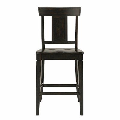 Rabago 24.21 Bar Stool Color: Antique Black