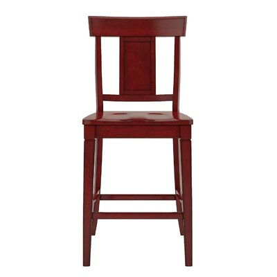 Rabago 24.21 Bar Stool Color: Antique Berry