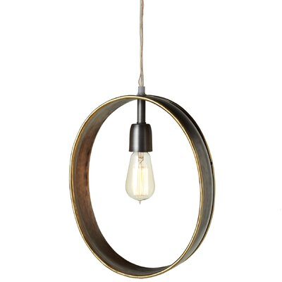 Aghanliss 1-Light Geometric Pendant