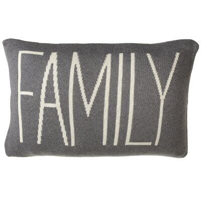 Aghacully Family Cotton Lumbar Pillow